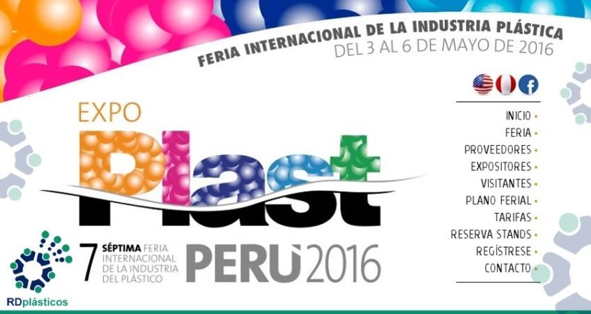 Expo PLAST PERU 2016 Feria Internacional de la Industria del Plástico