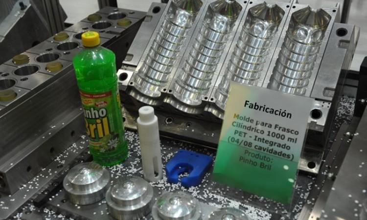 Molde frasco - Fabricación