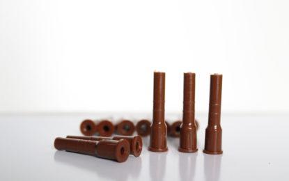 Pin mediano marrón