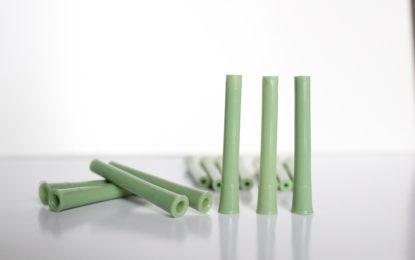 Pin grande verde