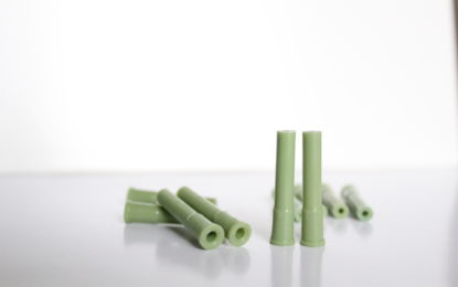 Pin mediano verde