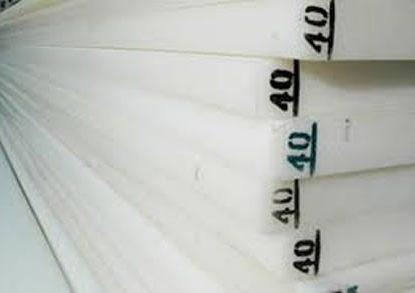Planchas de nylon